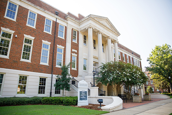 Side view of the Honors College.